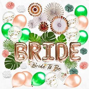 Bachelorette Party Decorations Kit - Engagement Party Decorations - Bridal Shower Decorations - Bachelorette Decorations - Bachelorette Party Supplies - Bride to Be Decorations - Bachelorette Decor