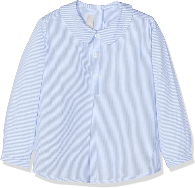 Chicco Camicia Maniche Lunghe Camisa, Turquesa (Azul Rigato 023), 92 (Talla del Fabricante: 092) para Niños: Amazon.es: Ropa y accesorios