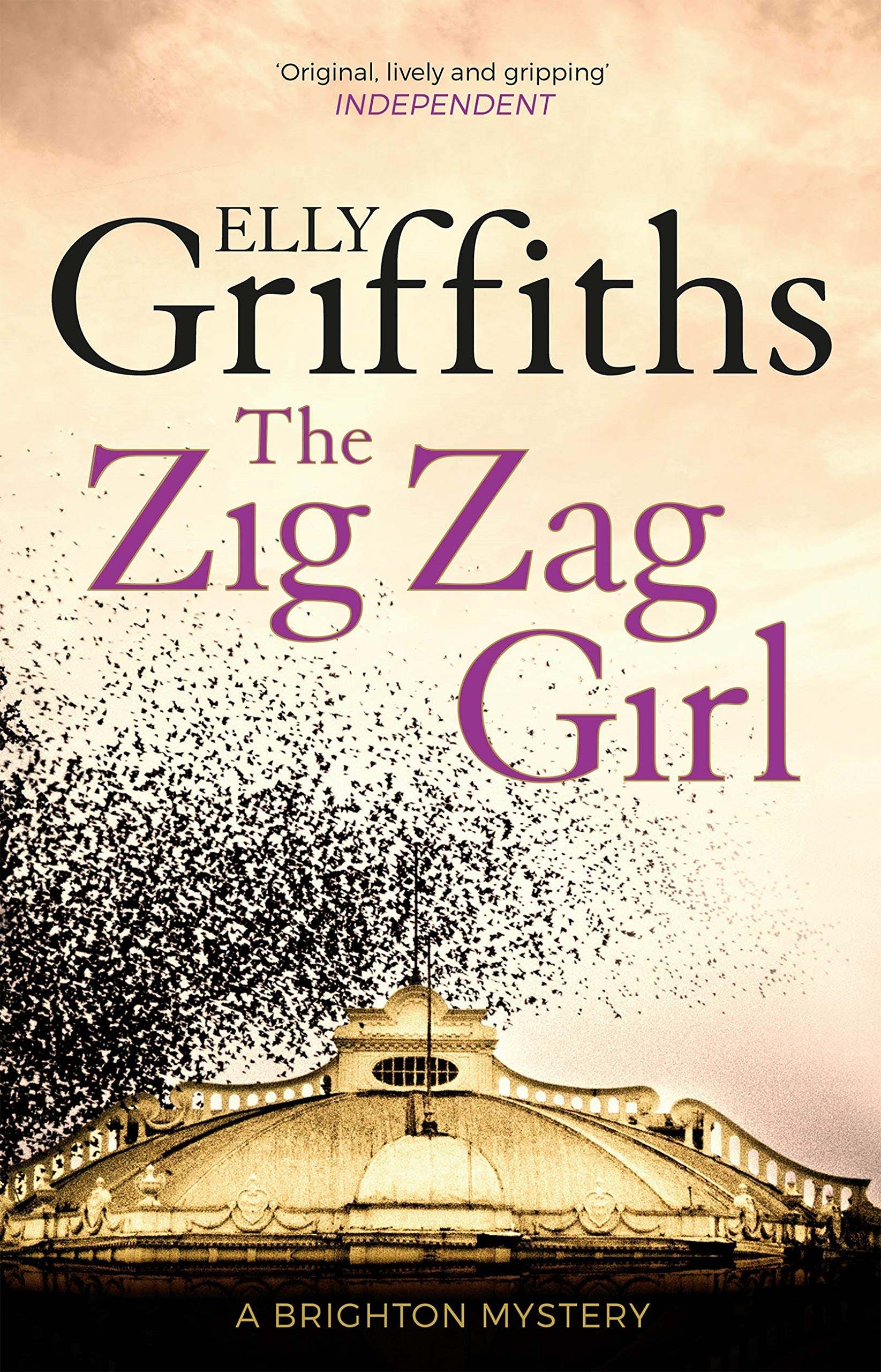 The Zig Zag Girl  The Brighton Mysteries 1  Stephens And Mephisto Mystery   English Edition