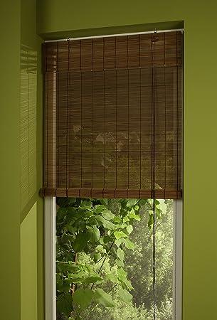 Amazon De Liedeco Bambus Rollo 100 X 160 Cm Kirschbaum