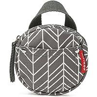 Skip Hop Grab & Go Pacifier Pocket, Grey Feather