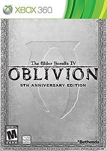 amazon com the elder scrolls iv oblivion 5th anniversary edition rh amazon com Xbox 360 Controller Manual Xbox 360 Setup Manual