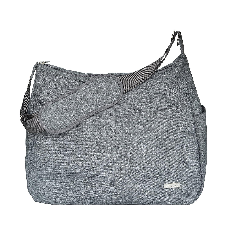 JJ Cole Linden Diaper Bag, Gray Heather J00585