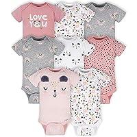 unisex-baby 8-pack Short Sleeve Onesies Bodysuits