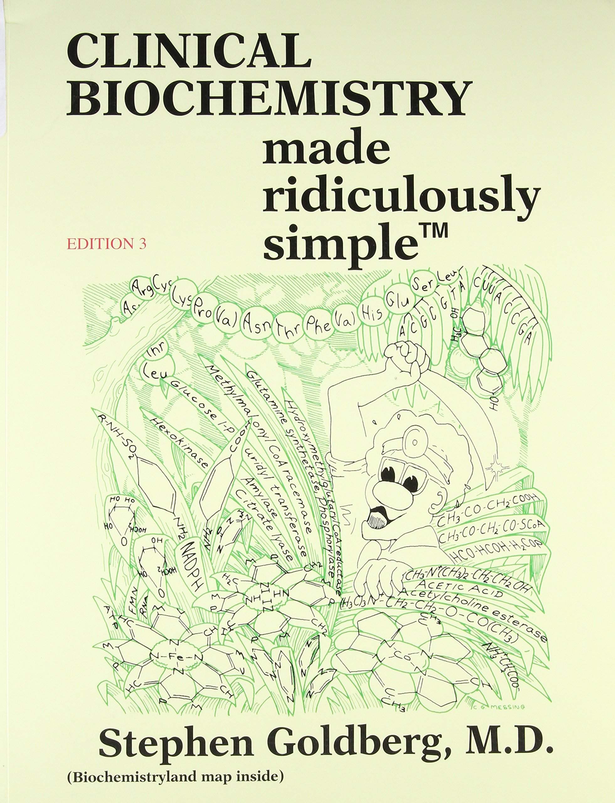 Buy Clinical Biochemistry Made Ridiculously Simple (MedMaster) Book ...