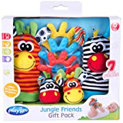 Playgro Jungle Friends Gift Pack for baby infant toddler child 0182436, Playgro is Encouraging Imagination with STEM/STEM for a bright future - Great start for a world of learning