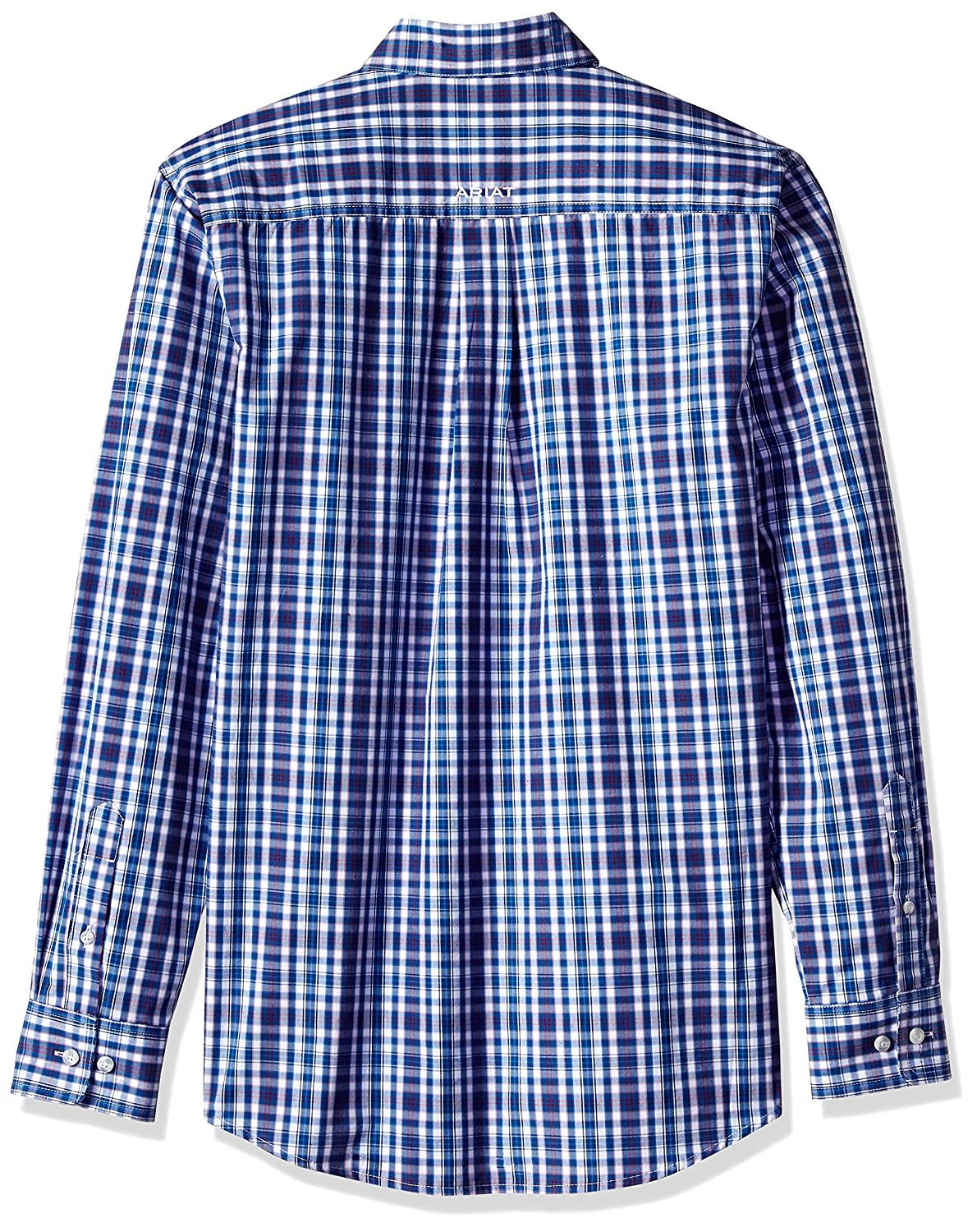 LT Darius Multi Colored Ariat Mens Fitted Long Sleeve Button Down Shirt-Pro Series
