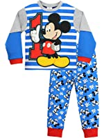 Disney Mickey Mouse Boys Mickey Mouse Pyjamas Ages 12 Months to 5 Years