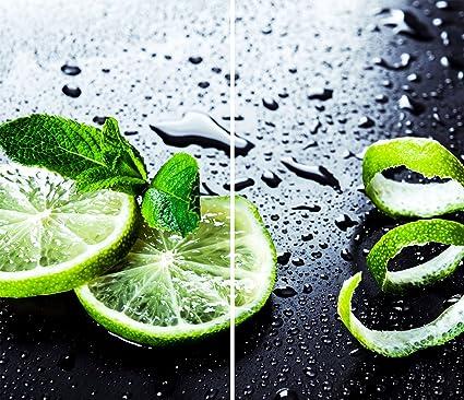 DAMU |Ceranfeldabdeckung 2 Teilig 2x30x52 cm Herdabdeckplatten Küche Elektroherd Induktion Herdschutz Spritzschutz Glasplatte