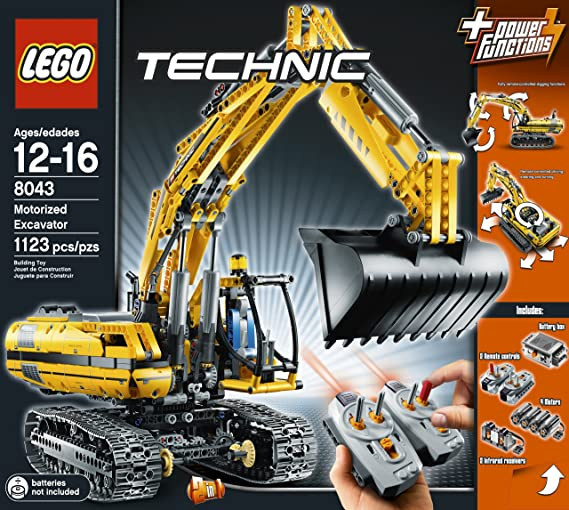 Amazon Lego Technic Motorized Excavator 8043 Toys Games