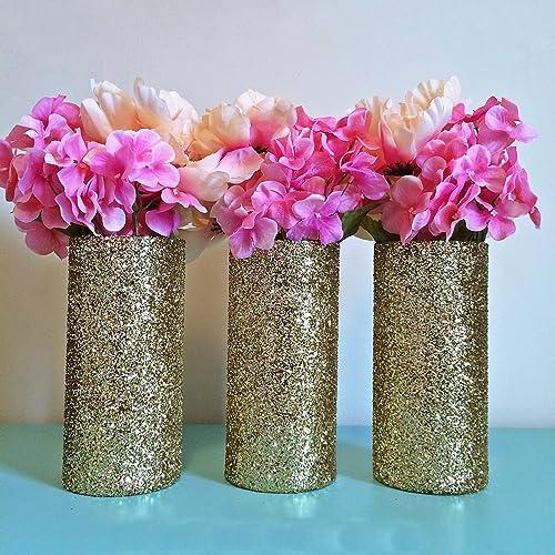 Amazon gold vases