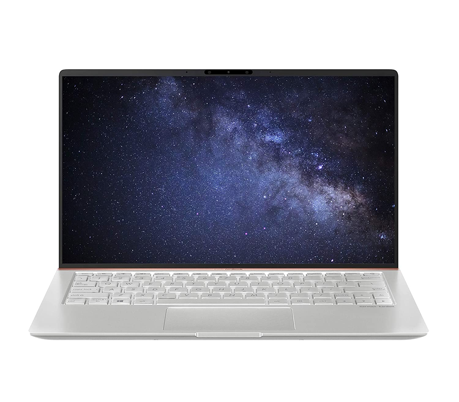 [Apply Coupon]ASUS ZenBook 14 UX433FA-A6106T 14-inch FHD Thin and Light Laptop (8th Gen Intel Core i5-8265U/8GB RAM/512GB PCIe SSD/Windows 10/Integrated Graphics/1.19 Kg), Icicle Silver Metal