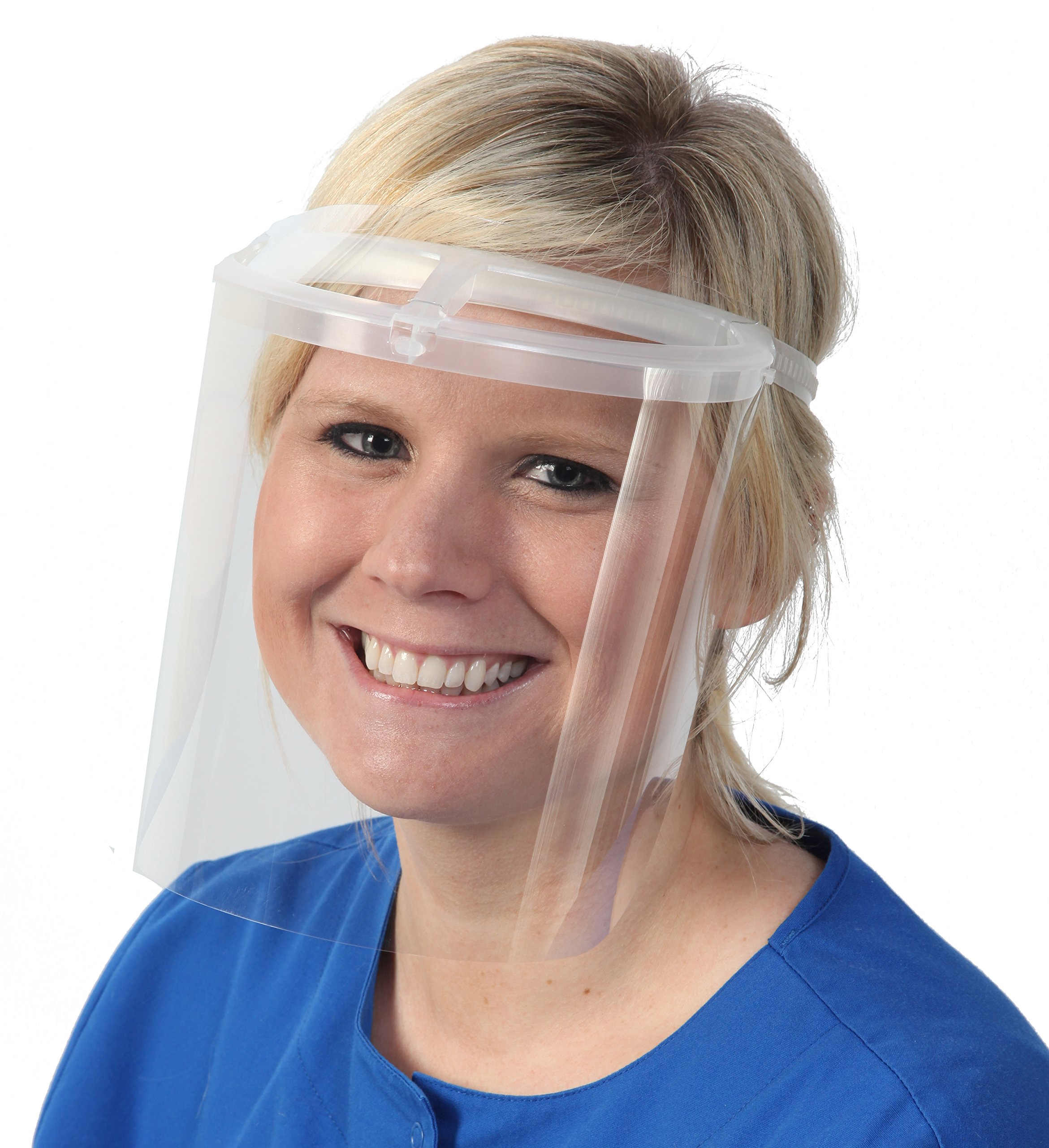 Bio-Mask Face Shield With 10 Shields (Clear)