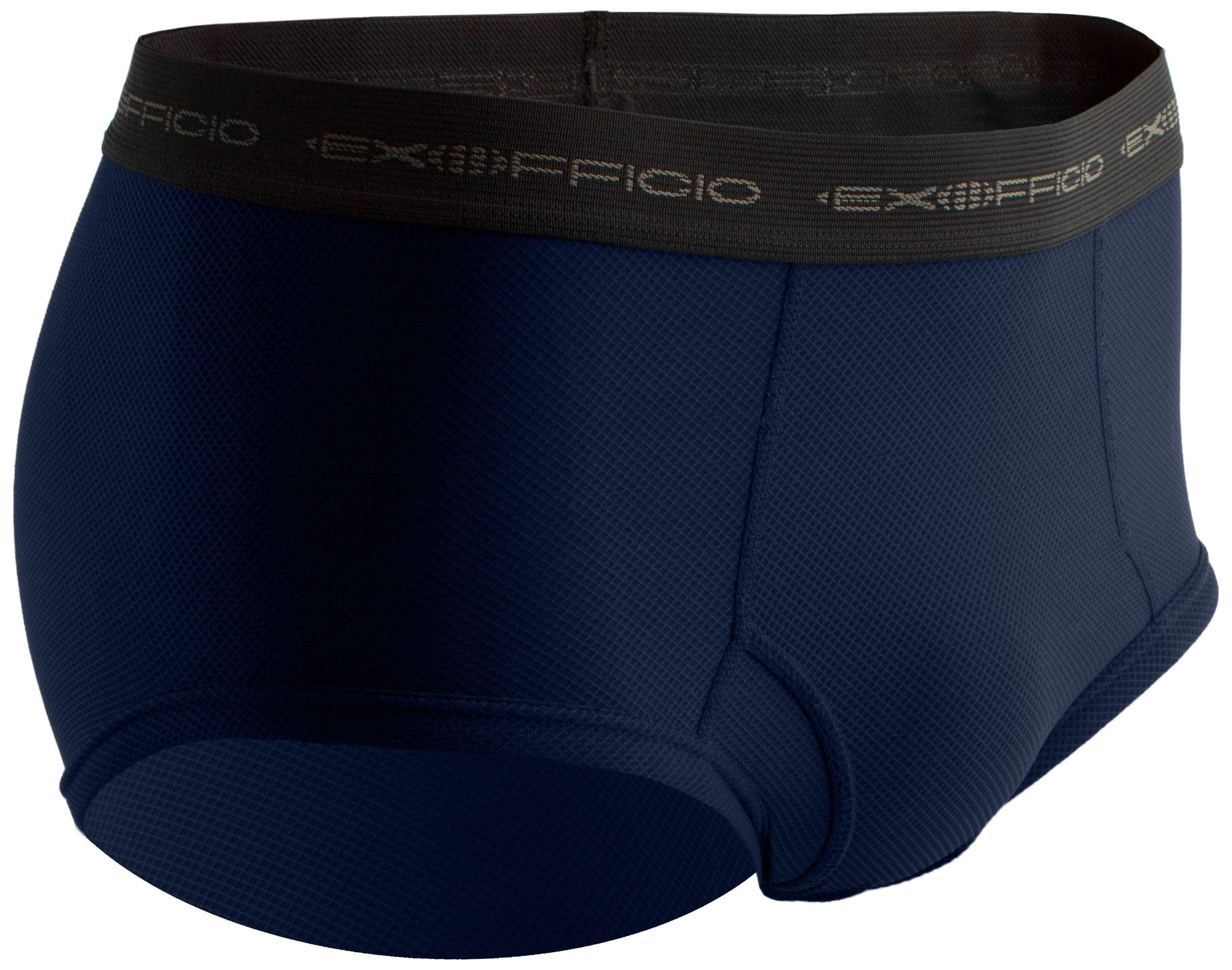 ExOfficio Men's Give-N-Go Brief Travel Underwear,Admiral,Small