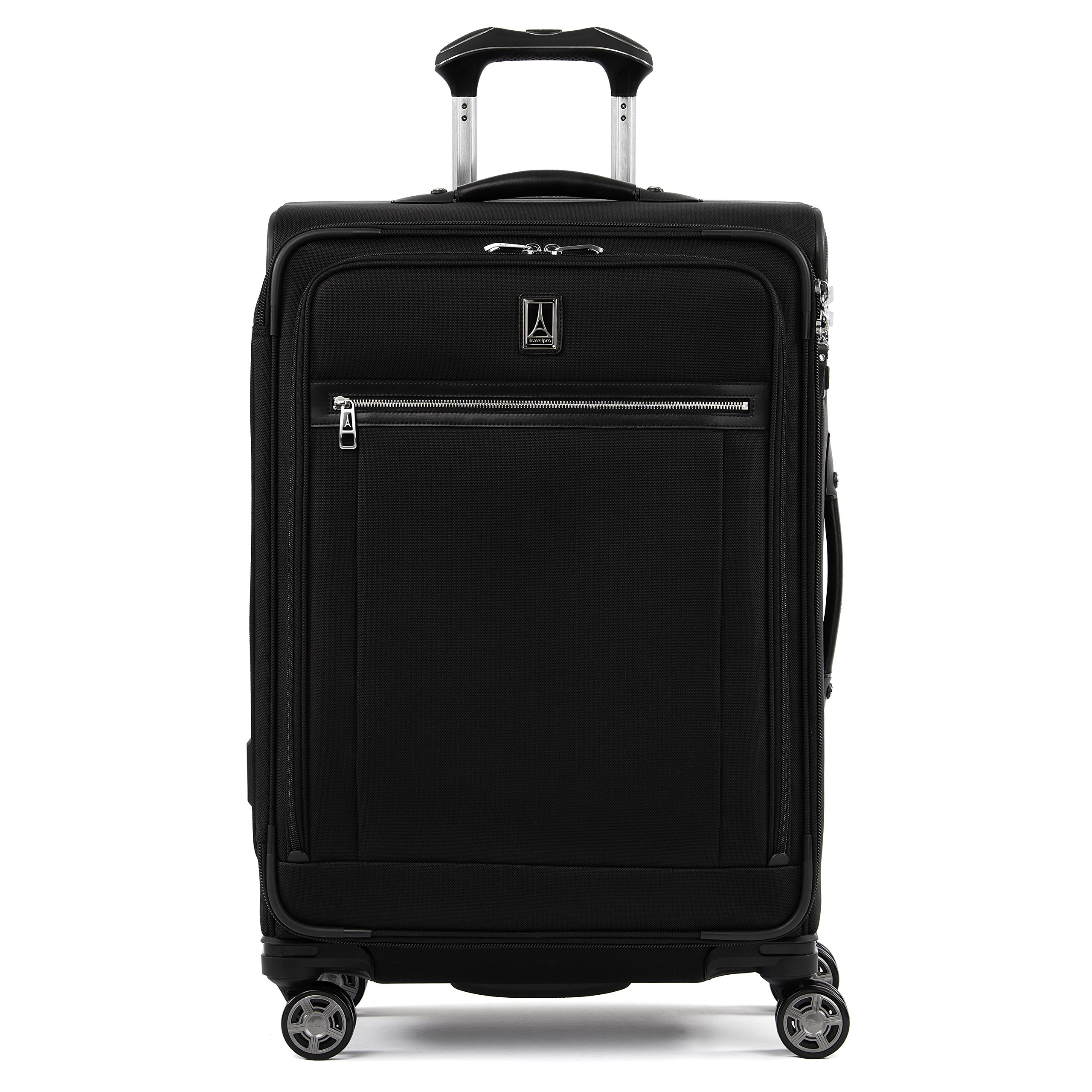 Travelpro Platinum Elite Expandable Spinner Suitcase, Shadow Black