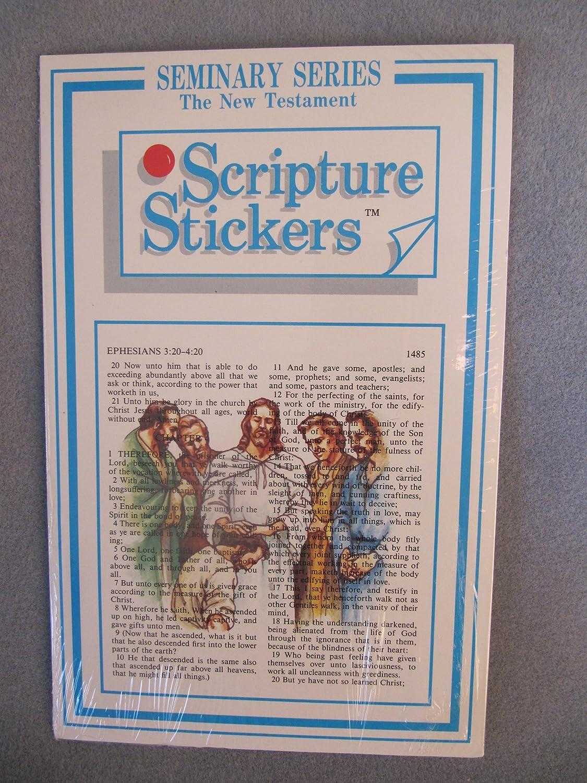 amazon com lds peel u0026 stick book of mormon seminary scripture