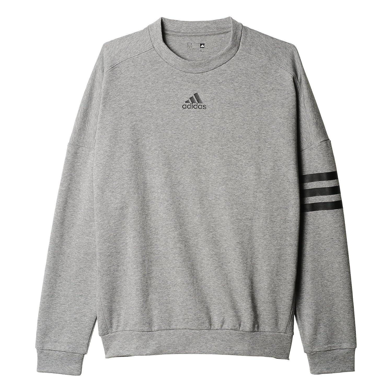 fe31f24cd adidas Men's Linear 3-Stripes Crew Sweatshirt: Amazon.ca: Sports & Outdoors