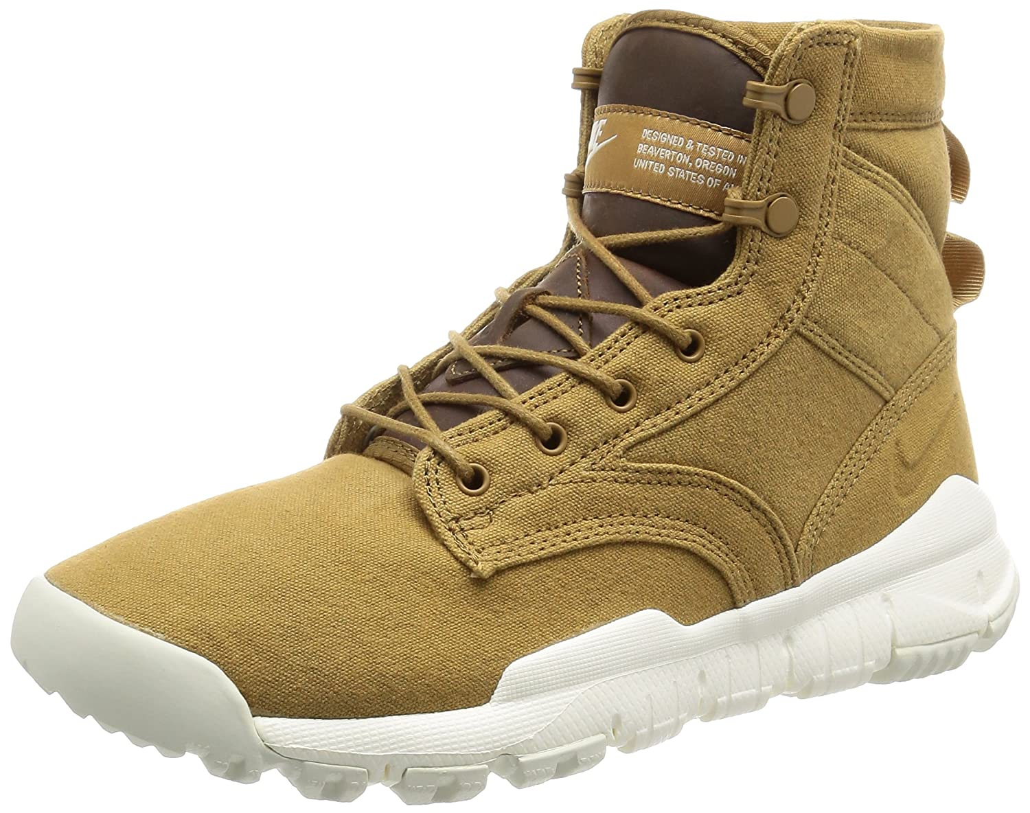 """Nike SFB 6"""" Canvas NSW 844577-200 Golden Beige/Sail Men's Special Field Boots"""
