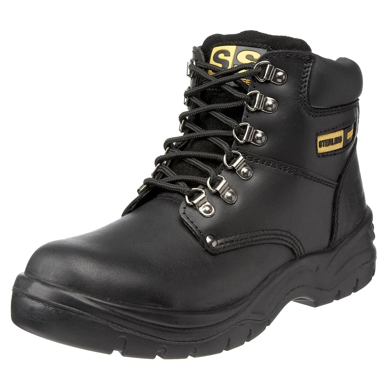 Sterling Safetywear Sterling Steel SS806SM SS806SM - Botas de cuero para hombre: Amazon.es: Industria, empresas y ciencia