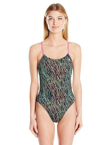 d6fbb47a7b Amazon.com : TYR Womens Electro Cutoutfit : Sports & Outdoors