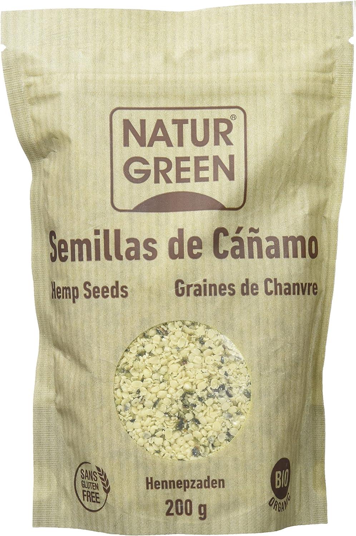 NaturGreen Semillas de cáñamo peladas ecológicas - 200 gr.