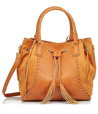 88f5df13d39d Big Buddha Bristow Handbag (Cognac)  Handbags  Amazon.com