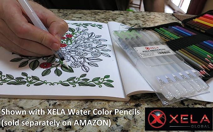 Xela alta calidad agua cepillo cerdas de nylon de bolígrafos para ...