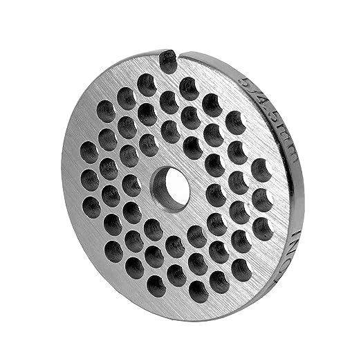 Inox disco perforado gr, 5 - 4, 5 mm de diámetro - para picadora ...