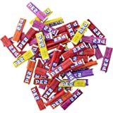 PEZ Bulk Candy Refills of assorted fruit flavors for dispensers or snacks (1 LB )