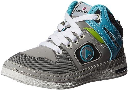 20416187a Airwalk Boy s Sneaker Shoe Grey Synthetic Sneakers - 1C UK  Buy ...