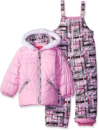 af1f0b5f0 Amazon.com  London Fog Little Girls  Toddler 2 Piece Heavyweight ...