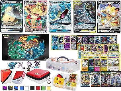 Pokemon Cards Set Pokemon Go TCG EX Common Card Bundle EX MEGA GIFT