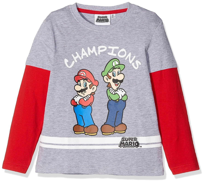 SUPER MARIO BROS Jungen T-Shirt WS-161543