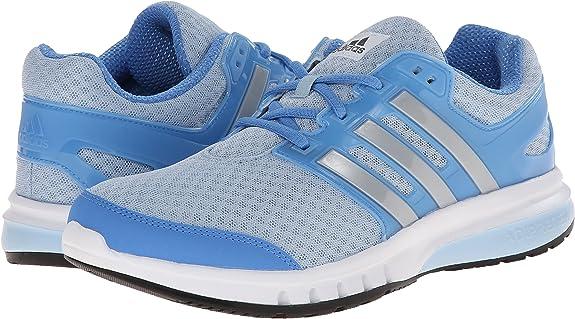 Nueva Adidas Galaxy Elite Zapatillas de Running Gris/Verde heladas 5: Amazon.es: Zapatos y complementos