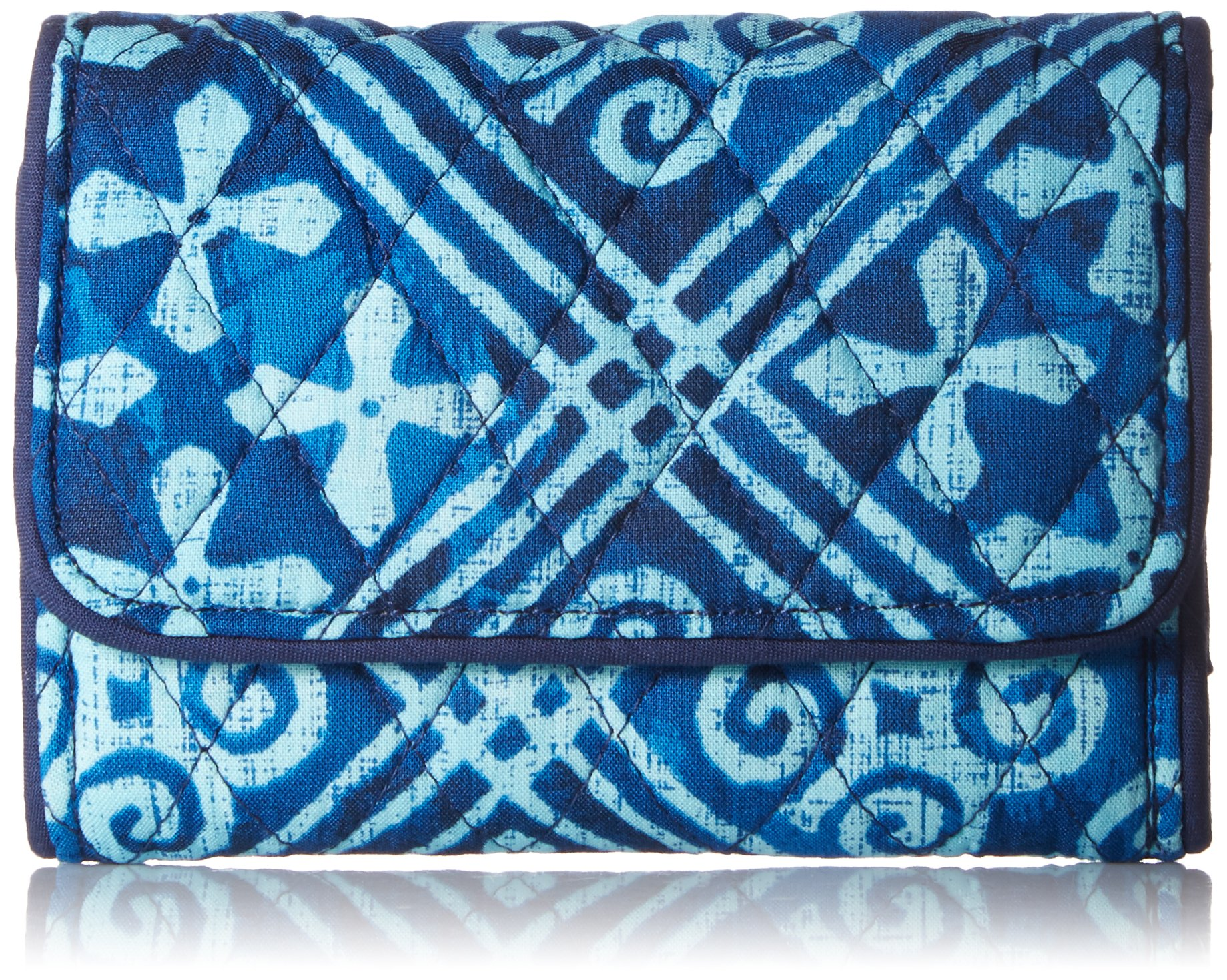 Riley Compact Wallet Wallet, Cuban Tiles, One Size