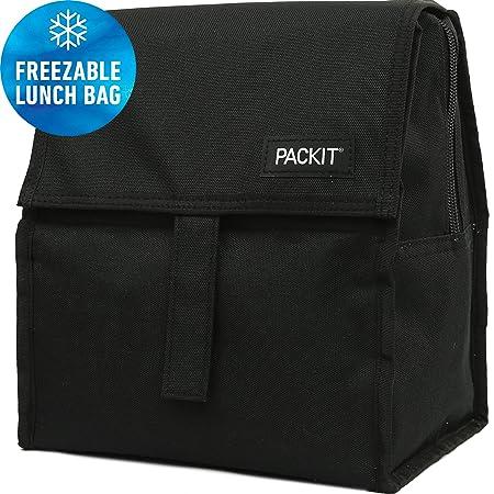PackIt PKT-PC-BAK Nevera portátil 6l, Lona Impermeable, Negro ...