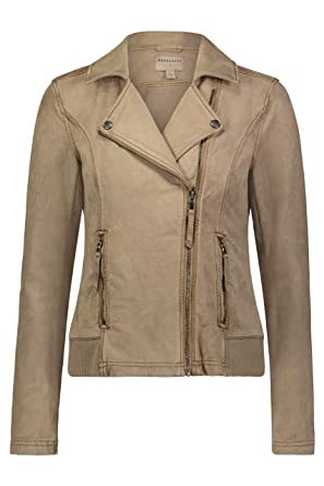 c873d439c Amazon.com: Marrakech Brittany Suede French Terry Moto Jacket: Clothing