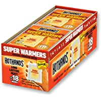 $21 » Body & Hand Super Warmers - Long Lasting Safe Natural Odorless Air Activated Warmers - Up to 18 Hours of Heat - 40 Individual…