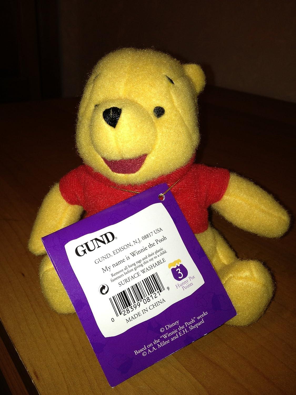 Classic Pooh Winnie l'ourson peluche (13 cm)