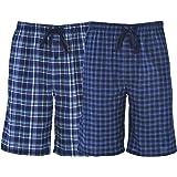 Hanes Men's & Big Men's Woven Stretch Pajama Shorts – 2 Pack