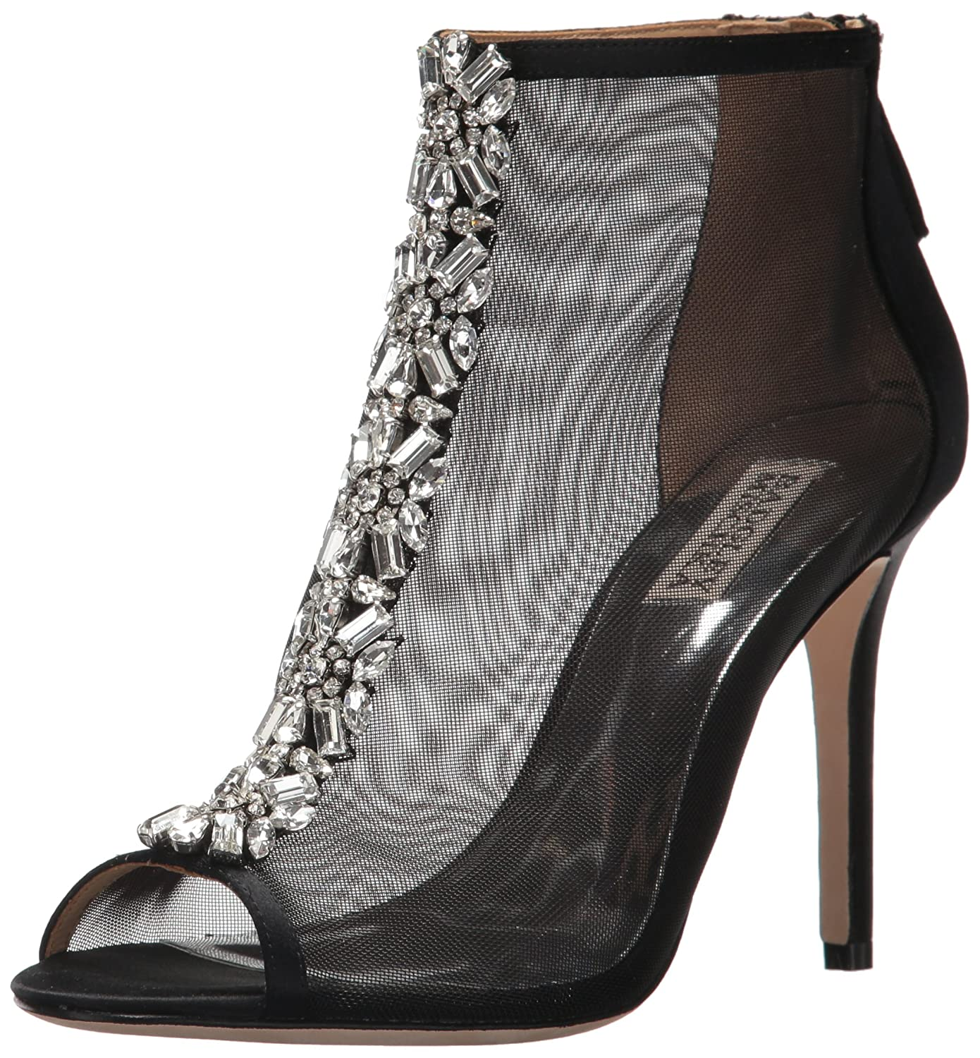 Badgley Mischka Women's Moss Ankle Boot B0734Z26SZ 11 B(M) US|Black