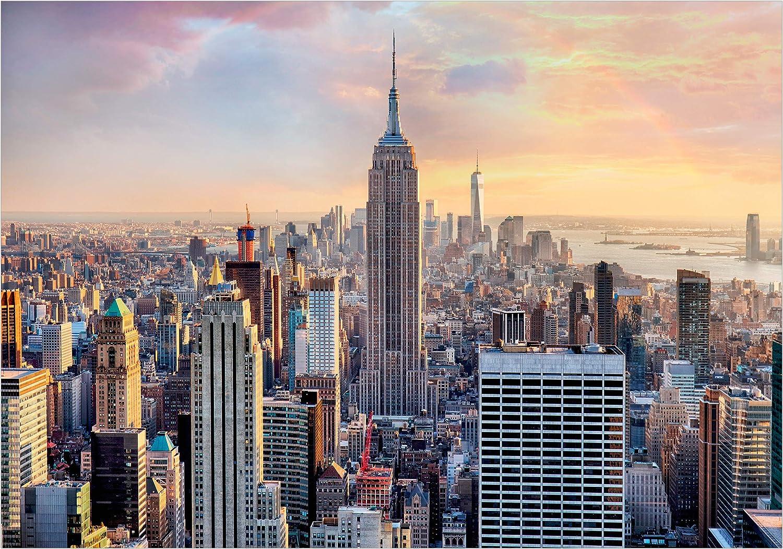 decomonkey Papier peint New York 400x280 cmTrompe l oeil D/éco Mural Tableaux Muraux Photo Ville City 3d Effekt