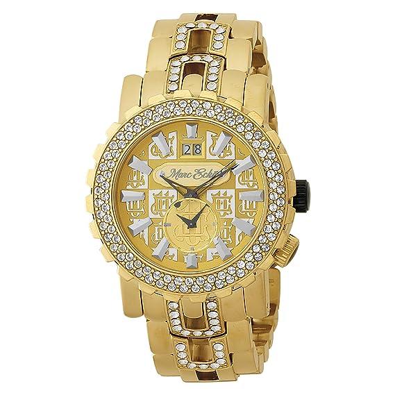 Marc Ecko E30010G1 - Reloj de pulsera hombre, color dorado: Marc Ecko: Amazon.es: Relojes