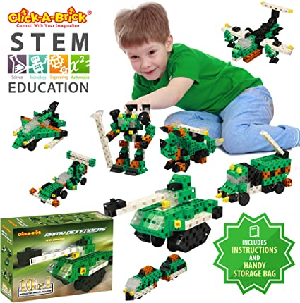100Pc Educational Toys Building Blocks for Boys /& Girls CS