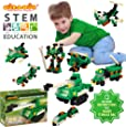 Click-A-Brick Army Defenders 100pc Building Blocks Set | Best STEM Toys for Boys & Girls Age 4 5 6 Year Old | Kids 3D Creative Puzzle Fun | Top Educational Learning Gift For Children Ages 4 - 12