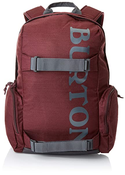 Burton Emphasis Pack Mochilas, Unisex Adulto, Rojo (Port Royal Slub), Talla