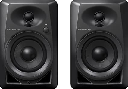 Amazon.com: Pioneer DJ DM-40 par de monitores de escritorio ...