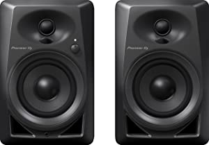 Pioneer Pro DJ Studio Monitor, Black (DM40)