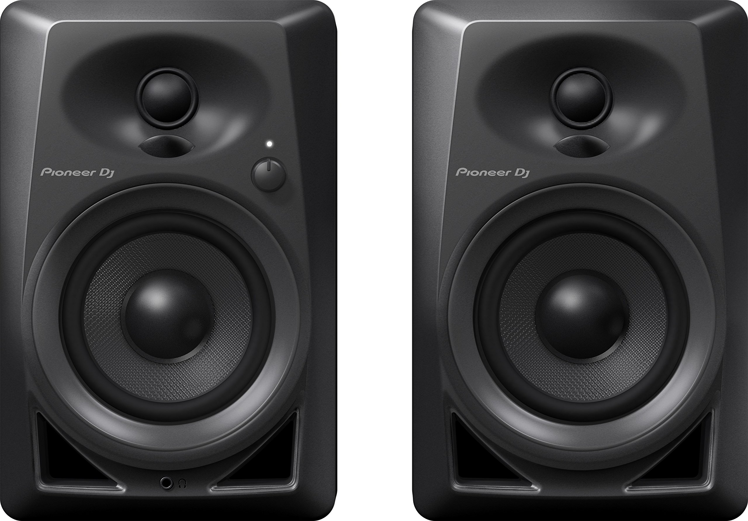 Pioneer DJ DM-40 PAIR Desktop Monitors Bring Excellent Audio Quality