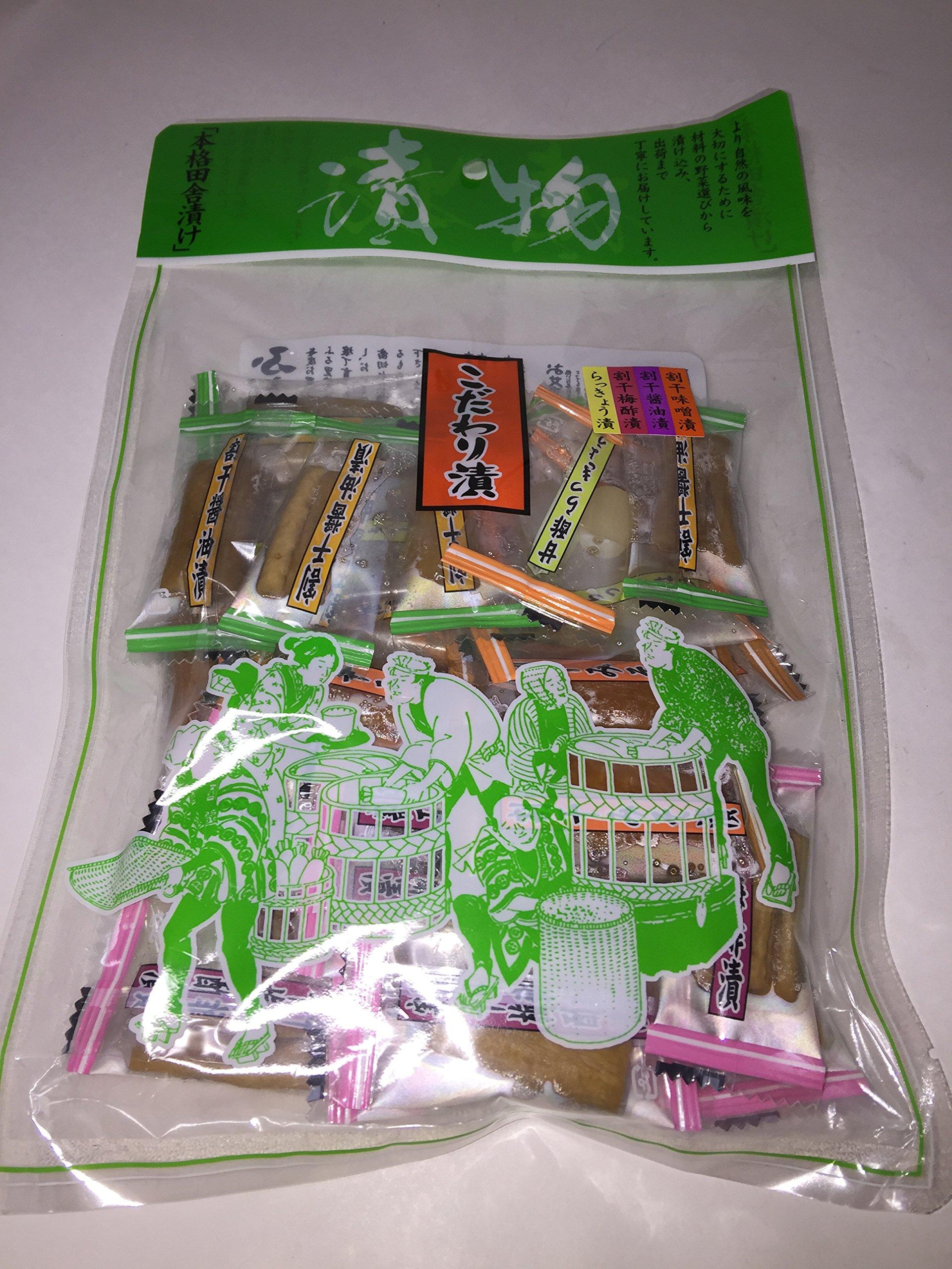 Otsumami 3 pack set Smoked squid, baked sardine, pickles by KINJOKEN MARUESU MIZUTAMARI (Image #4)
